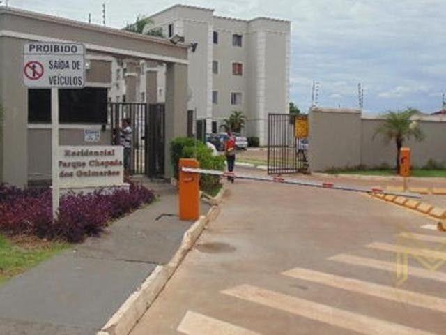 Vendo Apartamento MRV no Res. Parque Chapada dos Guimarães, 02 Quartos.