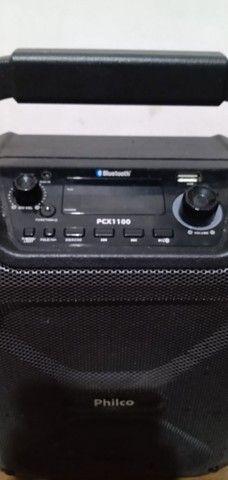 Caixa Acústica Philco Bluetooth PCX1100 100Wrms<br><br> - Foto 2