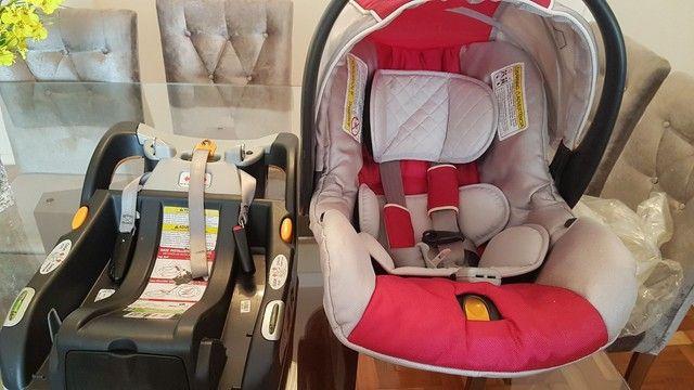 Bebê conforto Chicco keyfit com base  - Foto 2
