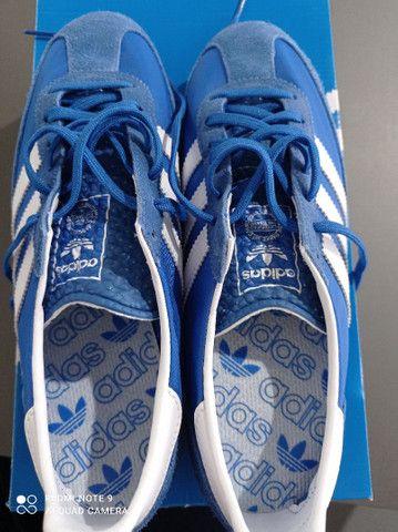Tênis Adidas Sl 72 Azul Novo - Foto 3