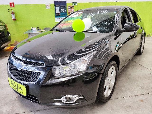 Chevrolet Cruze Sedan Lt 1.8 Automatico Completo Ano 2012