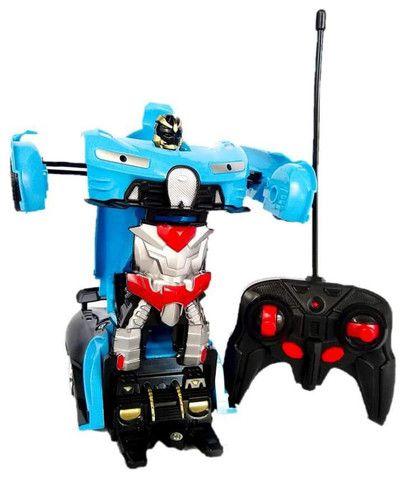 Carrinho Transformers controle remoto recarregável - Foto 2