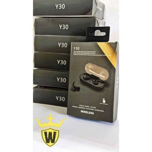 Promoção Fone Bluetooth Y30 TWS - Foto 3