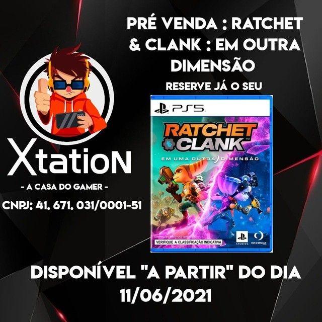 Ratchet & Clank : Em Outra Dimensão - Novo/Lacrado com NF  - PS5 - Foto 2