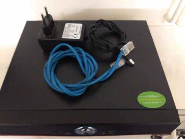 Vendo um DVR EJCF com HD de 1 terá usado 350 - Foto 2