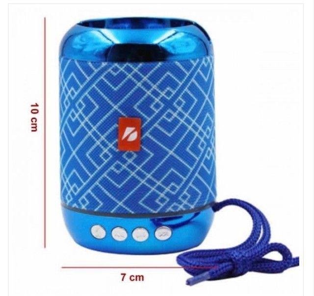 Caixa de som bluetooth portátil  - Foto 4
