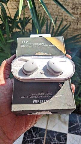 Promoção Fone Bluetooth Y30 TWS - Foto 2