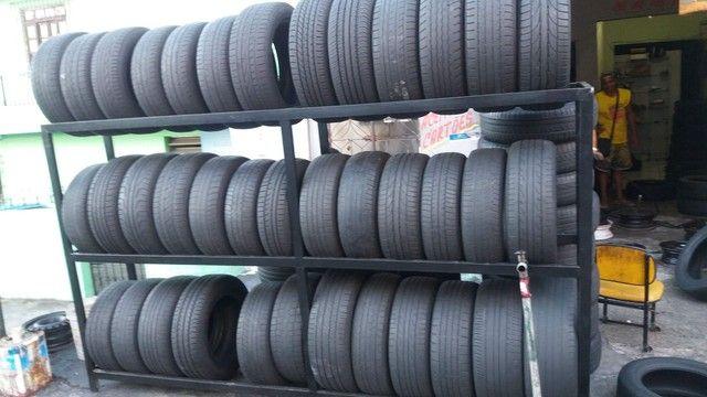 J.T Pneus borracharia pneu aro 15 195/65/15 a partir de r$ 70 - Foto 3