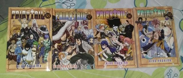 Mangá fairy tail 55,56,57,58