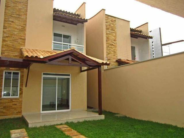 Casas duplex no centro do Eusébio, 3 quartos