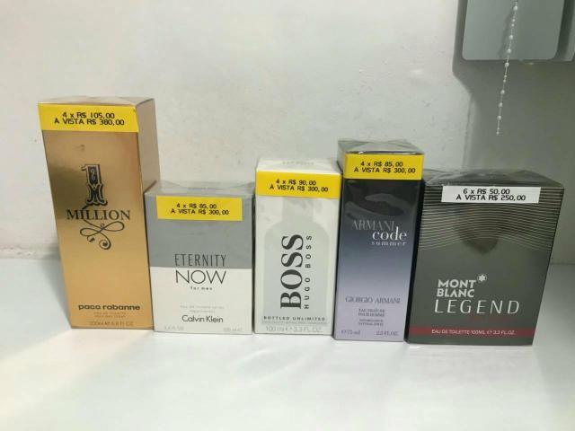 Denise perfumaria novo na caixa da