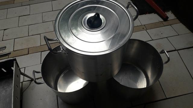 Caldeirão de alumínio 40 litros - Foto 4