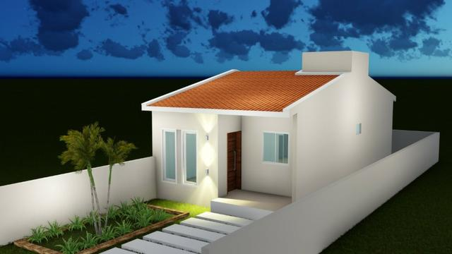 Vendo Casas 2 ou 3 quartos na cidade jardim - Financiamento Caixa - Entrada com FGTS - Foto 5