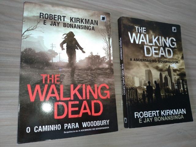 BOX The Walking Dead: Caminho para Woodburry + Ascenção do Governador [bom estado]