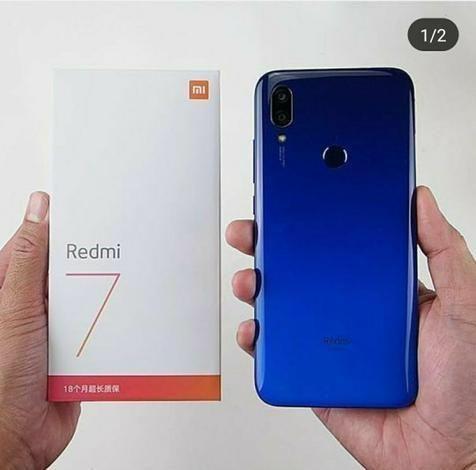 Redmi 7 32GB e 64 GB Preto / Azul, Zero Lacrado