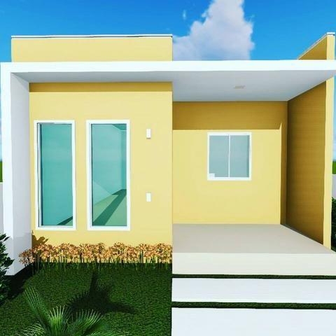 Vendo Casas 2 ou 3 quartos na cidade jardim - Financiamento Caixa - Entrada com FGTS