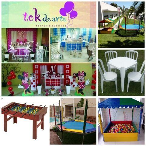 Imperdível!!!! decoração, Cama elastica e demais brinquedos para sua festa