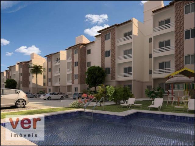 Apartamento com 2 dormitórios à venda, 48 m² por R$ 197.930 - Parangaba - Fortaleza/CE - Foto 7