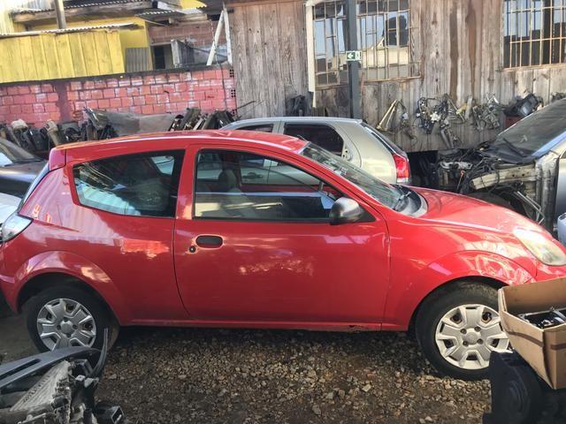 Sucata Ford ka 2012 para retirada de peça - Foto 4