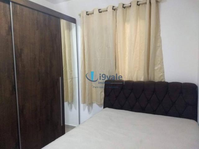 3 dormitórios sendo uma suíte e sacada na sala - jardim das indústrias - jacareí - Foto 4