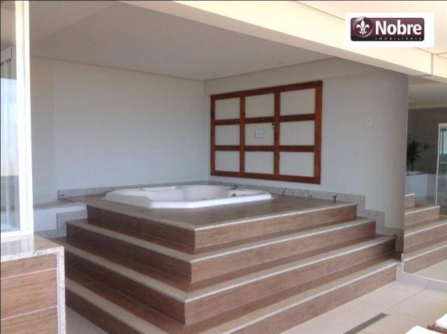 Apartamento com 4 dormitórios para alugar, 151 m² por r$ 3.805,00/mês - plano diretor sul  - Foto 3