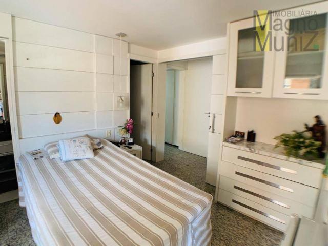 Apartamento de alto padrão à venda, 253 m² por r$ 1.650.000 - meireles - fortaleza/ce - Foto 11