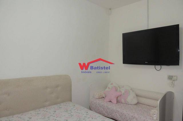 Casa com 3 dormitórios à venda, 50 m² por r$ 198.000 - rua jaguariaíva nº 288 - vila são j - Foto 11