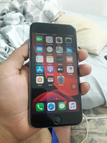 V/T iPhone 6s 64gb com caixa semi novo