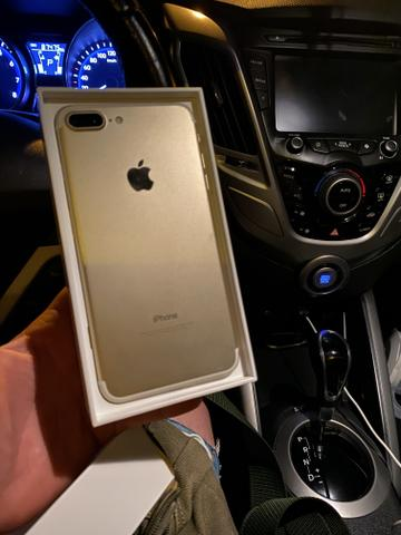 IPhone 7 Plus dourado 32
