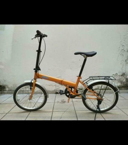 Bicicleta dobrável Drop