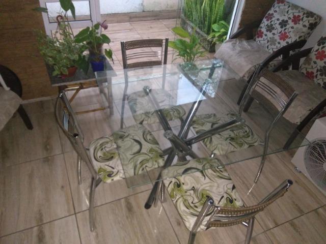 Mesa tampo vidro - Foto 3