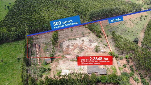 Oportunidade - Terreno 2 ha - 800 metros da cidade Paineiras-MG