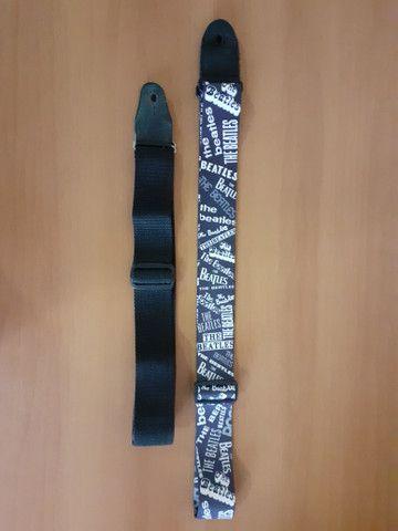 2 alças de guitarra/violão - Foto 2