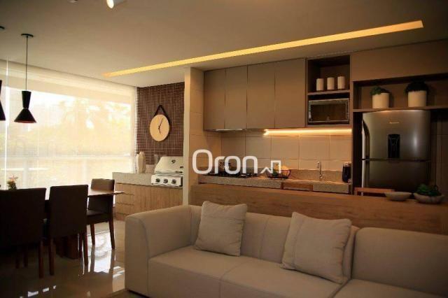 Apartamento com 3 dormitórios à venda, 94 m² por R$ 451.000,00 - Jardim Atlântico - Goiâni - Foto 5