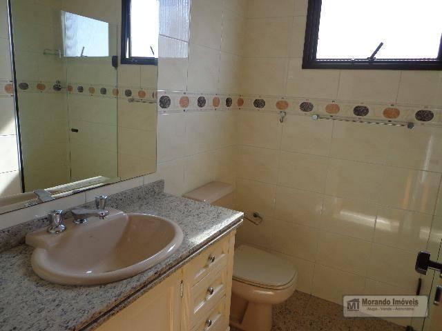 Apartamento com 4 dormitórios para alugar, 176 m² por R$ 3.100,00/mês - Vila Suzana - São  - Foto 20