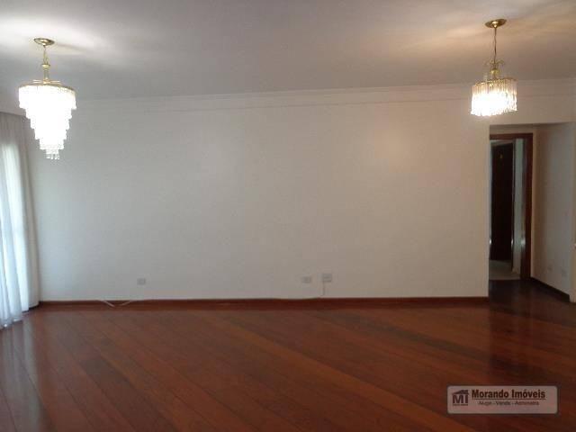 Apartamento com 4 dormitórios para alugar, 176 m² por R$ 3.100,00/mês - Vila Suzana - São  - Foto 4