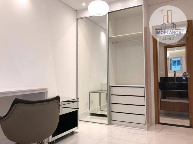 Belíssimo apartamento com 3 dormitórios à venda, 124 m² por R$ 837.585 - Canto do Forte -  - Foto 9