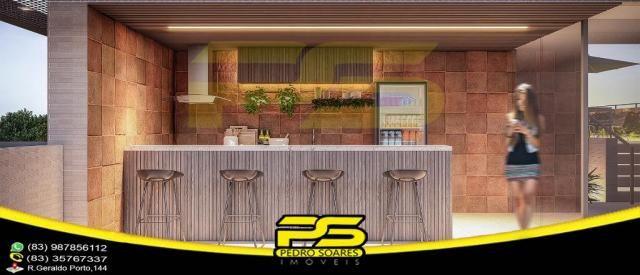 Oportunidade, apartamento, 02 suítes, piscina, 53,77m², por apenas R$ 389.563,65, em Bessa - Foto 8