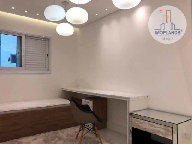 Belíssimo apartamento com 3 dormitórios à venda, 124 m² por R$ 837.585 - Canto do Forte -  - Foto 10