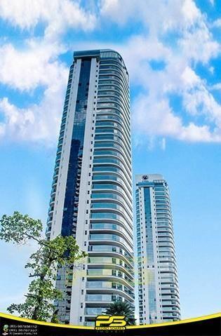 Oportunidade, apartamento p/alugar, 04 suítes, piscina, 05 vagas, 332,75m², por apenas R$