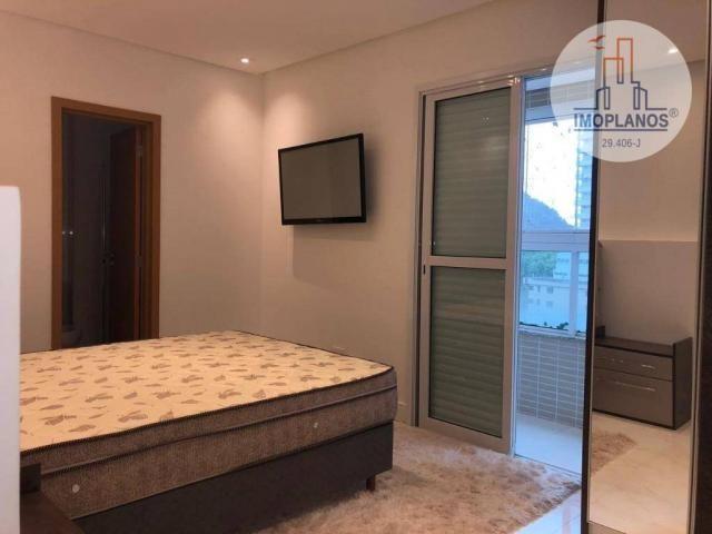 Belíssimo apartamento com 3 dormitórios à venda, 124 m² por R$ 837.585 - Canto do Forte -  - Foto 11