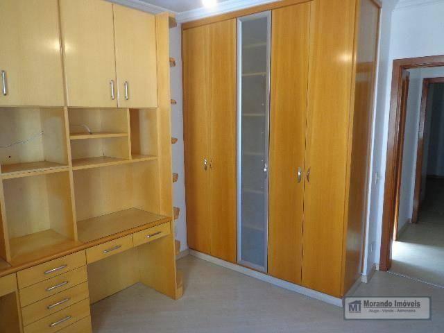 Apartamento com 4 dormitórios para alugar, 176 m² por R$ 3.100,00/mês - Vila Suzana - São  - Foto 18