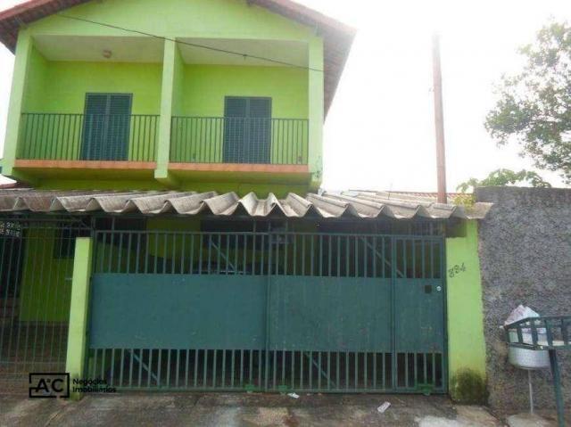 Sobrado com 2 dormitórios para alugar, 80 m² por R$ 1.100,00/mês - Jardim Adelaide - Horto