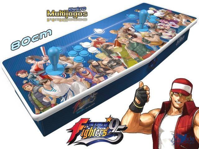 Arcade Fliperama Multijogos Retro 2 Players Tema: The King of Fighters 95 Com 7050 Jogos - Foto 2
