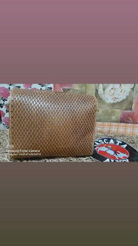 bolsa de couro feminina  - Foto 3