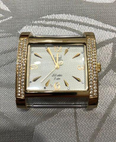 Relógio feminino Dumont All Collors dourado (produto em perfeito estado) - Foto 2