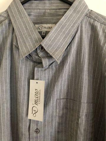 Camisas masculinas plus size NOVA
