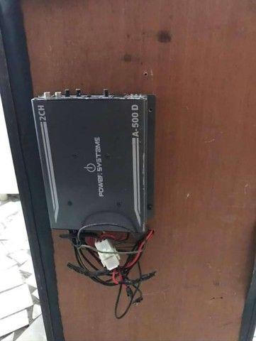 Caixa de som para com módulo A 500 para carro - Foto 4