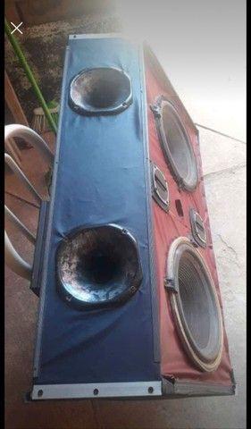 Caixa de som para com módulo A 500 para carro - Foto 3