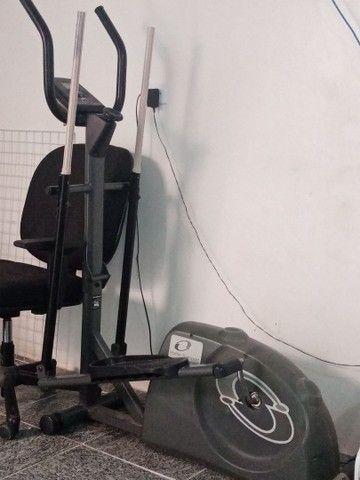 Aparelho simulador de caminha elíptico